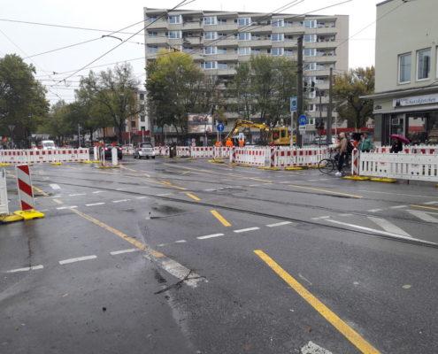 Straßensperrung Köln