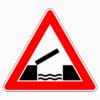 Verkehrszeichen 101-55 bewegliche Brücke