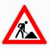 Verkehrszeichen 123 Arbeitsstelle