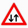 Verkehrszeichen 125 Gegenverkehr