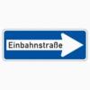 Vorschriftzeichen 220-20 Einbahnstraße rechtsweisend
