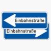 Vorschriftzeichen 220-40 Einbahnstraße doppelseitig (-10/-20)