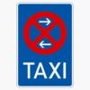 Vorschriftzeichen 229-31 Taxenstand Mitte,  Aufstellung links