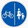 241-30 Getrennter Rad- und Gehweg, Radweg links