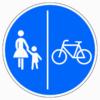 241-31 Getrennter Rad- und Gehweg, Radweg rechts
