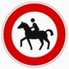 257-51 Verbot für Reiter