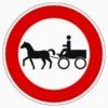 257-52 Verbot für Gespannfuhrwerke
