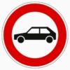 257-55 Verbot für Personenkraftwagen