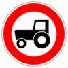 257-58 Verbot für Kraftfahrzeuge und Züge, die nicht schneller als 25 km/h fahren können oder dürfen