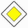 Verkehrszeichen 306 Vorfahrtstraße