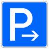 Richtzeichen 314.20 Parken Ende