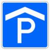 Richtzeichen 314.50 Parken Parkgarage