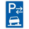 Parken auf Gehwegen ganz in Fahrtr. links Anfang