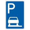 Parken auf Gehwegen ganz in Fahrtr. links Ende