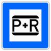 Verkehrszeichen 316 Parken und Reisen (Park and Ride)