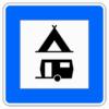 Richtzeichen 365.60 Zelt-und Wohnwagenplatz