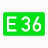 Richtzeichen 410 Europastraßen