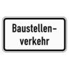 Zusatzzeichen 1007.38 Baustellenverkehr