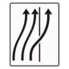Verkehrslenkungstafel 511.27 Verschwenkungstafeln