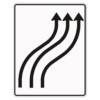 Verkehrslenkungstafel 511.22 Verschwenkungstafeln