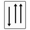 Verkehrslenkungstafel 522.31 Fahrstreifentafeln