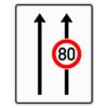 Verkehrslenkungstafel 523.30 Fahrstreifentafeln mit Zeichen 274