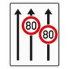 Verkehrslenkungstafel 523.31 Fahrstreifentafeln mit Zeichen 274