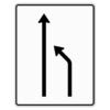 Verkehrslenkungstafel 531.10 Einengungstafeln