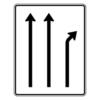 Verkehrslenkungstafel 533.20 Trennungstafeln