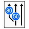 Verkehrsleitungstafel 545.11 Aufweitungstafeln mit Zeichen 275