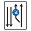 Verkehrsleitungstafel 546.11 Aufweitungstafeln mit Zeichen 275