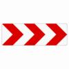 Verkehrszeichen 625.21 Richtungstafel in Kurven, rechtsweisend